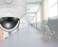 retirement homes security camera system